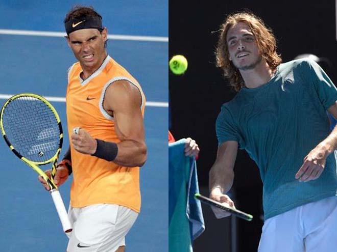 Nadal - Tsitsipas: 3 set tốc hành, uy danh vang dội - 1