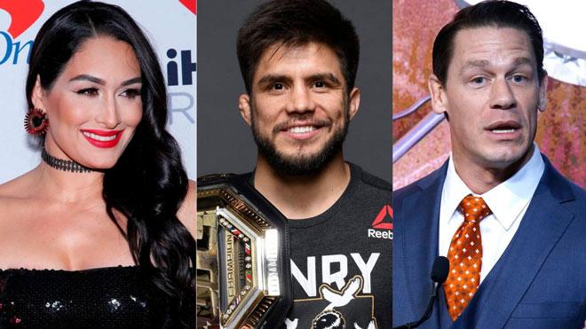 """Thấy bạn gái John Cena quá đẹp: Võ sỹ UFC đòi """"giải quyết"""" trên võ đài - 1"""