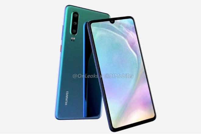 Huawei P30-series lộ ảnh thực tế, đẹp hơn iPhone XS - 1