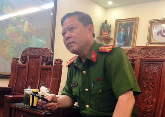 Thanh Hoa City Police Chief is deprived of the army - 1