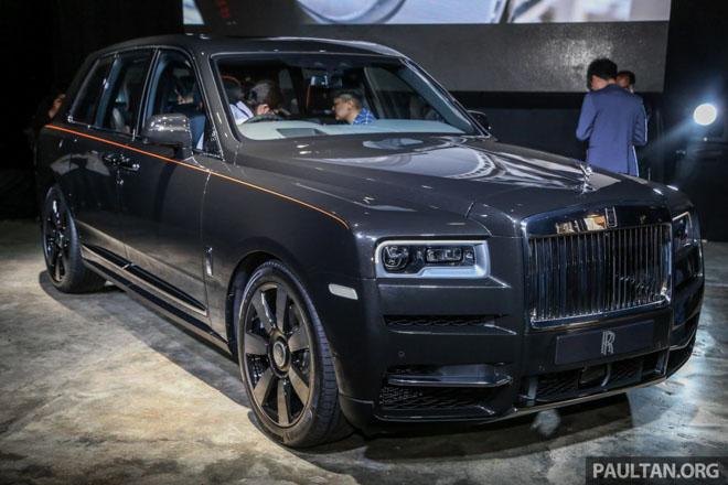 """Ảnh thực tế SUV siêu sang """"chục tỷ đồng"""" Rolls-Royce Cullinan - 1"""