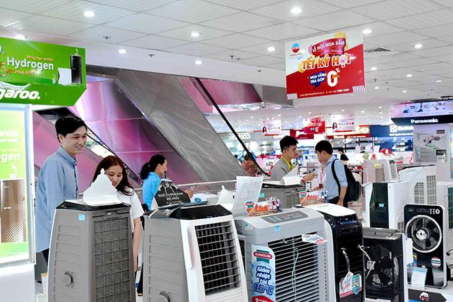 Thị trường điện máy tăng trưởng mạnh trước tết Kỷ Hợi - 1