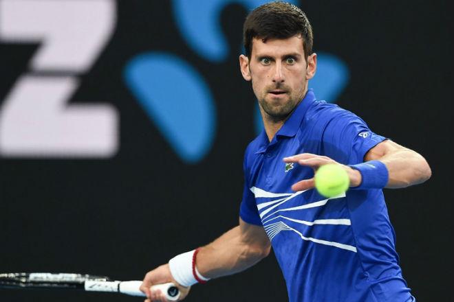 Djokovic - Pouille: Gầm thét dữ dội dọa Nadal chung kết - 1