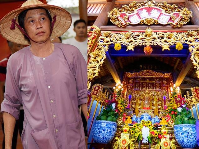 2 nhà thờ Tổ tiền tỷ nức tiếng của Vượng Râu - Hoài Linh: Nơi nào hoành tráng hơn?