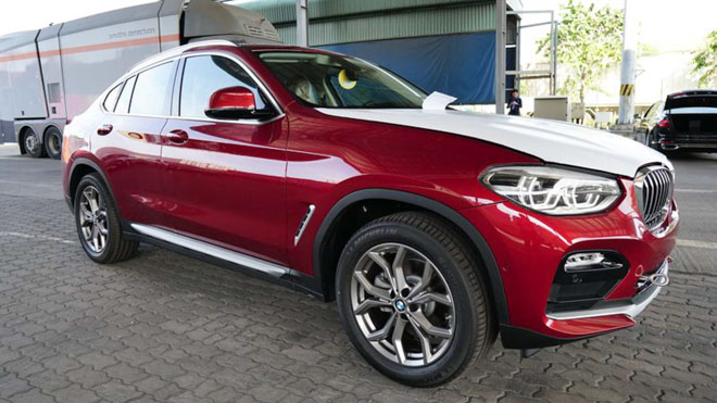 The new BMW X4 2019 arrived in Vietnam, preparing to shoot - 1