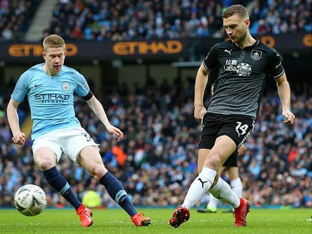 """Man City - Burnley: Bùng nổ hiệp 2, đại thắng """"5 sao"""""""