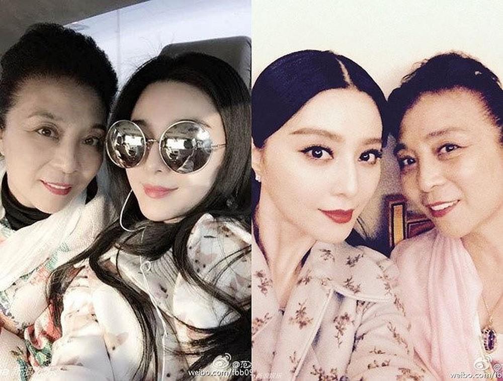 """Những bà mẹ trẻ đẹp """"ăn đứt"""" con gái của mỹ nhân Hoa ngữ - 1"""