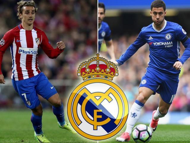 """Real xây """"Dải ngân hà 3.0"""": Hazard, Griezmann cùng đổ bộ Bernabeu"""