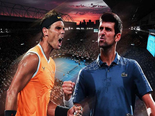 Trực tiếp Nadal - Djokovic: Kịch tính ngay từ đầu (CK Australian Open)
