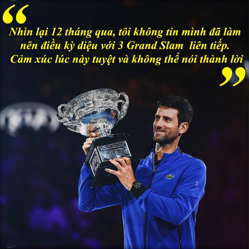 """Djokovic """"lên đỉnh"""" Australian Open: Khát vọng ngai vàng """"Vua Grand Slam"""" - 9"""