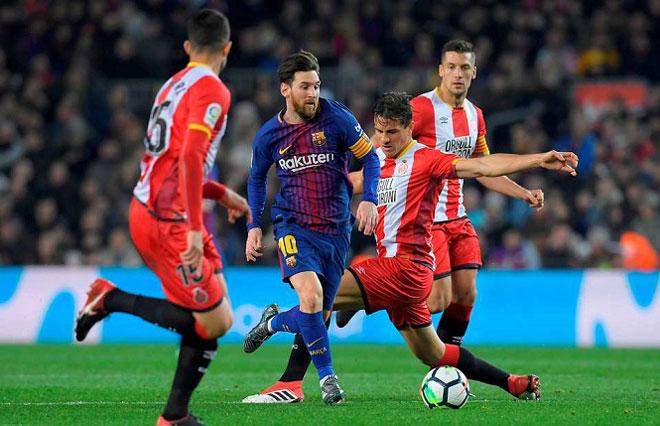 """Girona - Barcelona: Trút giận lên hàng xóm """"tí hon"""" - 1"""