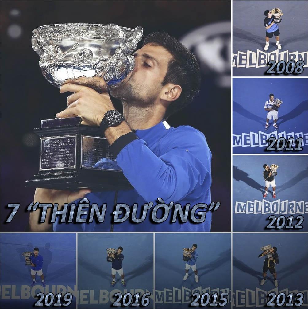 """Djokovic """"lên đỉnh"""" Australian Open: Khát vọng ngai vàng """"Vua Grand Slam"""" - 2"""
