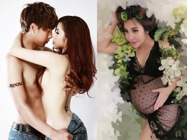 DJ chụp ảnh nude với Hồ Quang Hiếu bất ngờ khoe bụng bầu 8 tháng
