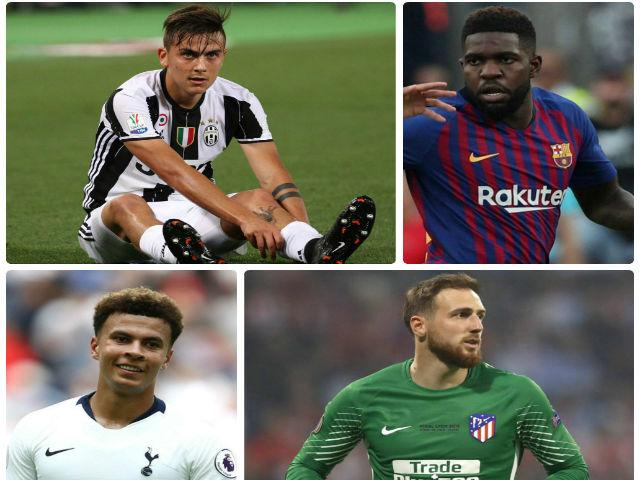 """Top SAO """"khủng"""" lương bèo: """"Tiểu Messi"""" cày khỏe chỉ bằng 1/5 Ronaldo"""