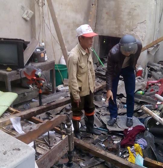 5 người thương vong nghi do chế tạo pháo nổ trong nhà - 1