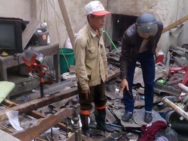 5 người thương vong nghi do chế tạo pháo nổ trong nhà