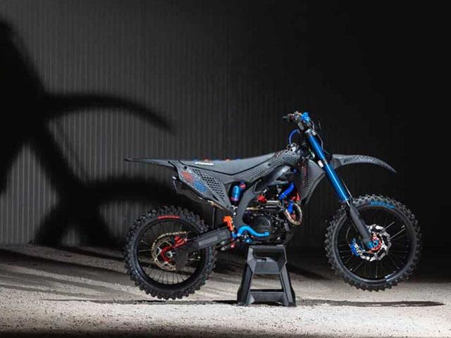 Cận cảnh chiếc mô tô địa hình Kawasaki KX 450 2019 bằng công nghệ in 3D Core