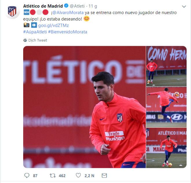 """Bom tấn"" Morata về Atletico: Sắp gieo sầu Real, đấu Juventus - Ronaldo? - 1"