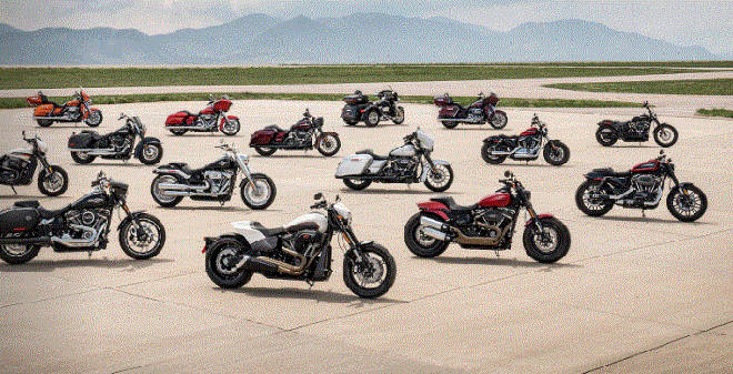 A series of motorcycles Harley-Davidson Vietnam cut prices, attracted tourists to Tet-1