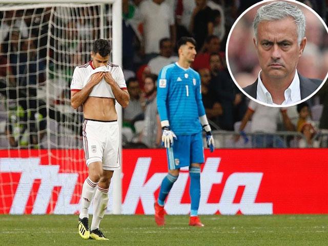 Thua tê tái tại Asian Cup, Iran định gây sốc với Mourinho - Zidane