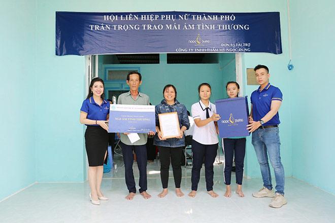 TMV Ngọc Dung trao tặng hai mái ấm tình thương tại Cần Giờ - 1