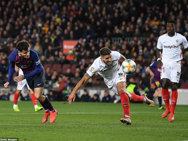 Barça - Sevilla: Messi's dancing, 7 goals at the banquet