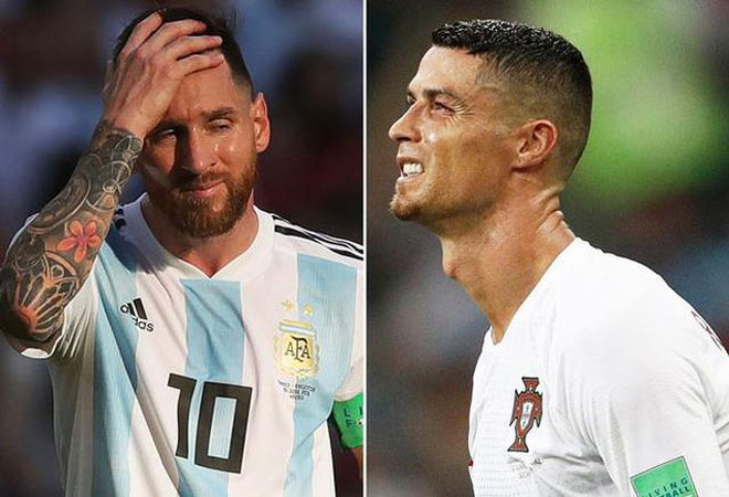 Messi is great, and Ronaldo - 1