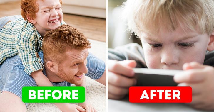 Cho con chơi điện thoại nhiều, cha mẹ rồi sẽ hối hận khi lâm vào cảnh này - 1