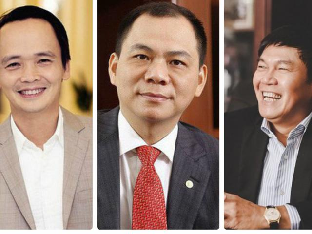 Tỷ phú Phạm Nhật Vượng và đại gia Việt nhận lương bao nhiêu năm 2018?