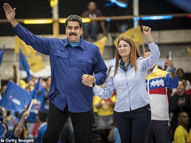 Con đường tới đỉnh cao quyền lực của vợ Tổng thống Venezuela