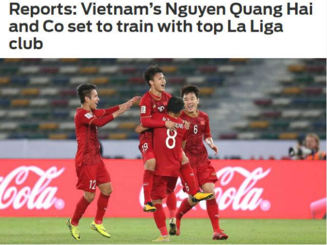 NÓNG: Quang Hải được mời sang Tây Ban Nha tập luyện
