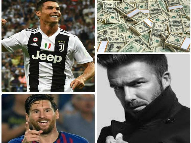 Ronaldo kiếm tiền số 1 lịch sử: Ngang cơ Beckham, Messi chưa là gì