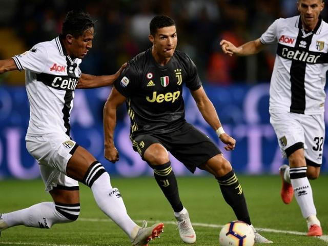Juventus – Parma: Ronaldo và dàn sao trút cơn giận dữ