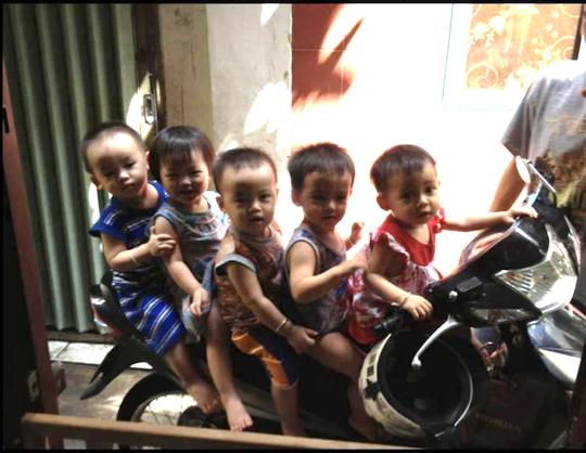 Ca sinh 5 đầu tiên ở Việt Nam bây giờ ra sao? - 5