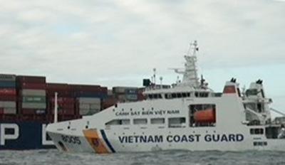 Marine Police Rescued 24 Singapore Seamen on Burnt Fishing Vessels - 1