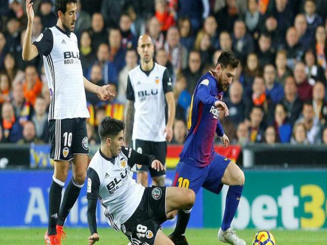 """Barcelona – Valencia: Messi quyết công phá """"Bầy Dơi"""""""
