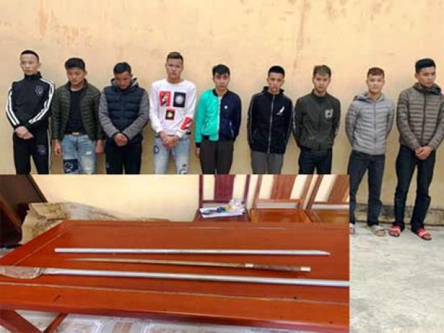 10 tên côn đồ mang dao kiếm truy sát, chém gục 2 anh em