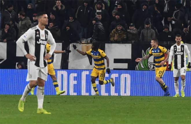 Juventus - Parma: Ronaldo chói sáng, sai lầm phút 90+3 - 1