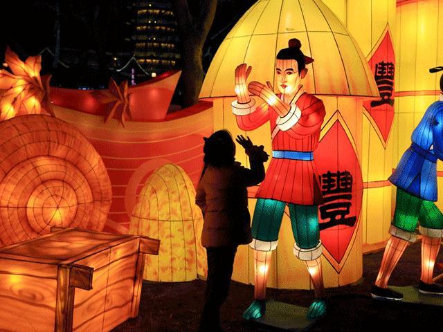 Rộn ràng lễ hội đón Tết Kỷ Hợi tại các thành phố ở Trung Quốc