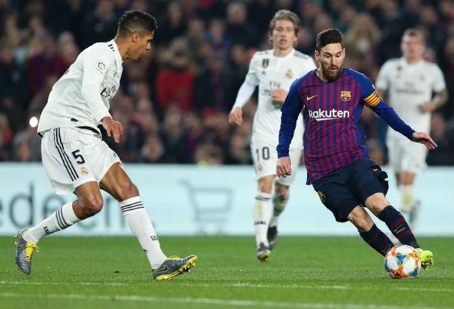 """Barca - Real bất phân thắng bại: Messi """"ẩn mình"""" lỡ kì tích nửa thập kỷ - 1"""