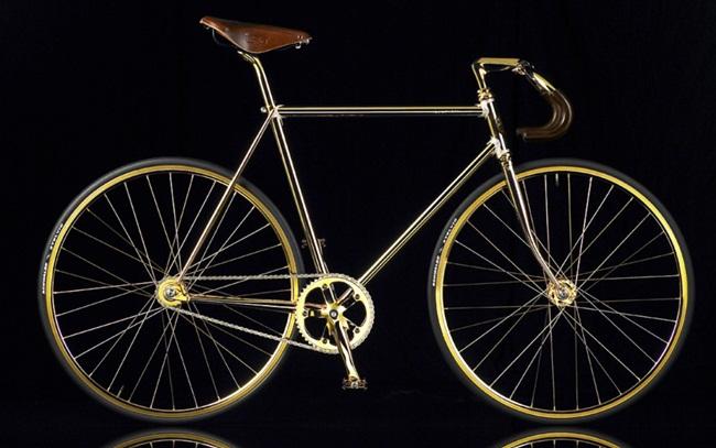 """""""Bóc giá"""" loạt xe đạp phủ vàng, đại gia mua xong nơm nớp lo - 1"""
