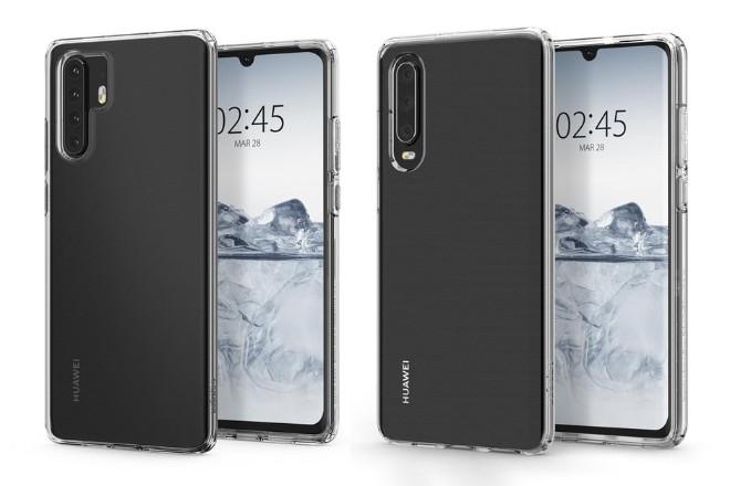 Vỏ bảo vệ tiết lộ hình ảnh đầy đủ dành cho Huawei P30 và P30 Pro - 1