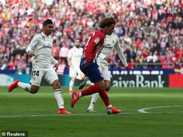 Atletico Madrid - Real Madrid: Tưng bừng siêu phẩm, nghiệt ngã vì VAR