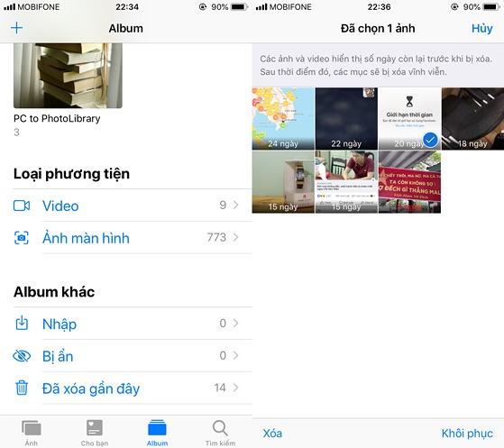 3 cách khôi phục hình ảnh đã xóa trên iPhone hoặc iPad - 1