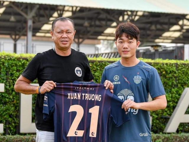 Xuân Trường ra mắt CLB số 1 Thái Lan: Đãi ngộ khủng, mặc số áo khó khăn