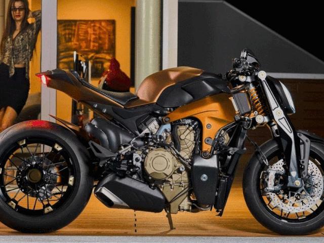 Ngắm chiến binh đường phố Ducati V4 Penta giá 2,63 tỷ đồng