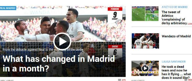 """Real thắng tranh cãi Atletico: Báo chí khen ngợi Solari và """"tiểu Neymar"""" - 1"""