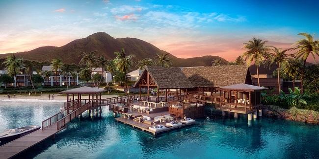 …và kể từ đó ông trở nên yêu thích cảng Christophe tại đảo St. Kitts, ngôi làng hơn 1000 hecta mà hiện tại là địa điểm lý tưởng cho du thuyền vùng Caribbean.