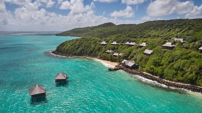 Đảo Canouan cũng là một điểm đến mới của các tỷ phú.