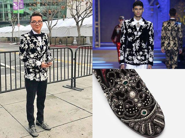 Lộng lẫy ngang sao ngoại, Đàm Vĩnh Hưng chọn trang phục gì khi lần đầu dự Grammy?